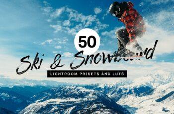 50 Ski & Snowboard Lightroom Presets 4310535 5