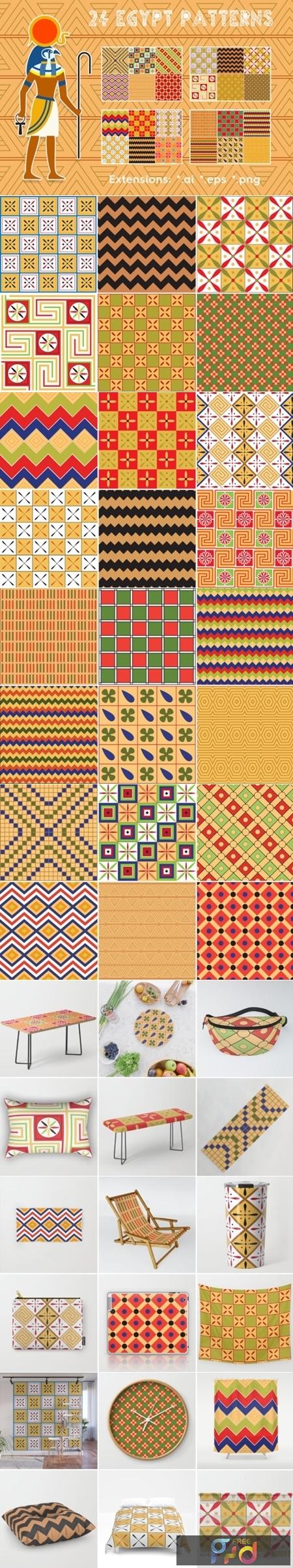24 Egypt Patterns 2002947 1