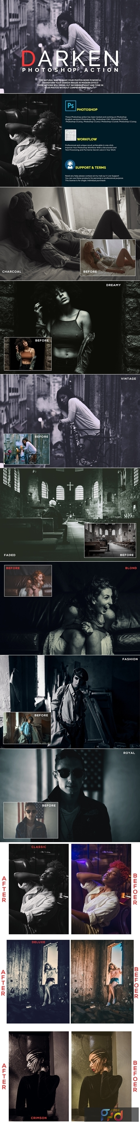Darken Photoshop Actions 4308915 1