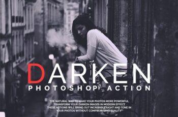 Darken Photoshop Actions 4308915 5