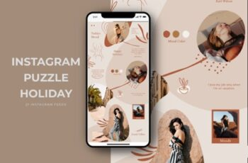 Instagram Puzzle Holiday Templates 2003243 4