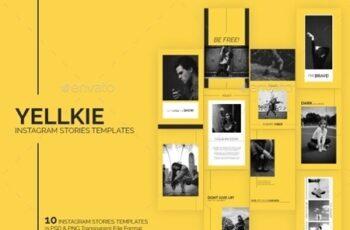 Yellkie Instagram Stories Templates 24759564 3