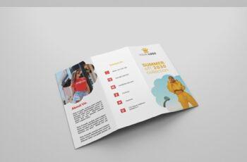 6 Fashion Tri-fold Brochures 4160663 7