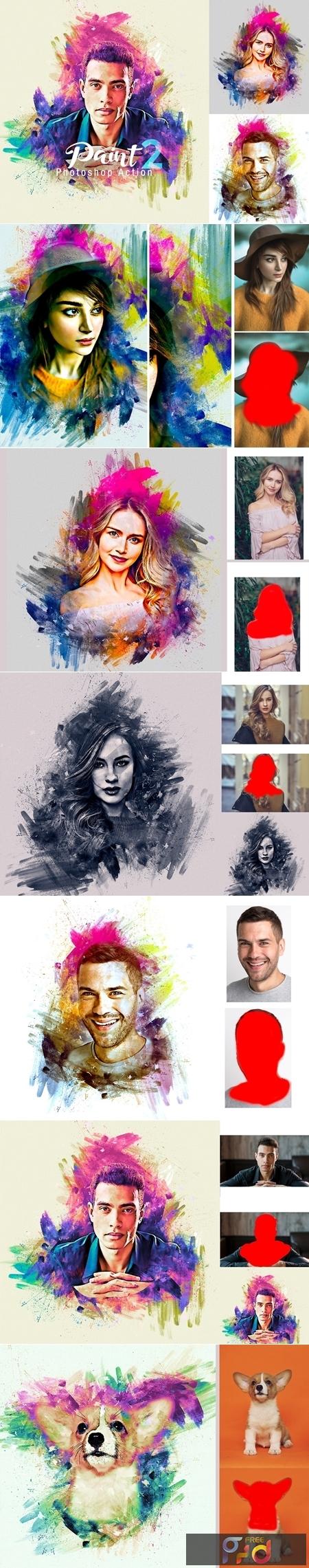 Paint Photoshop Action 4237606 1