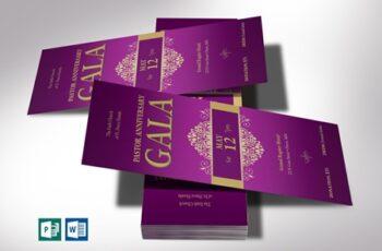 Pastor Anniversary Gala Ticket Word 4078574 2