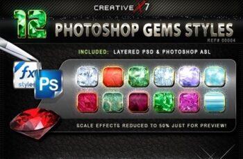 CreativeX7 - 12 Photoshop Gems Styles 24863603 2
