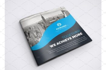 Square Bifold Brochure Template 4242459 2