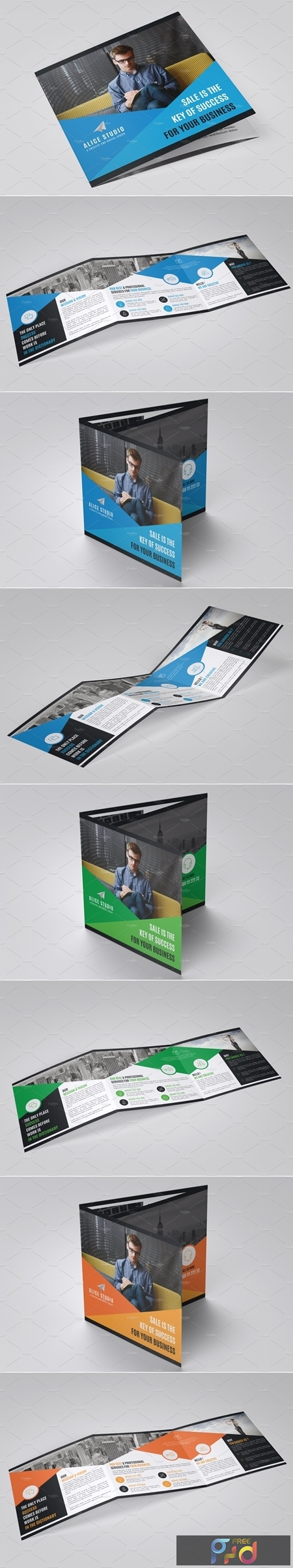 Square Trifold Brochure Template 4242475 1