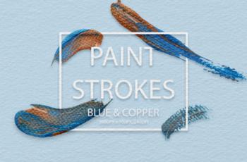 Blue & Copper Strokes 2006393 5