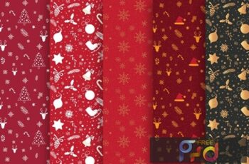 Christmas Pattern Collection 9K3XEYY 2