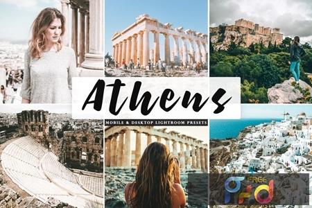 Athens Mobile & Desktop Lightroom Presets J8HPEXW 1