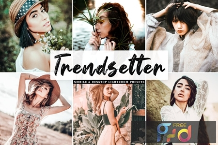 Trendsetter Mobile & Desktop Lightroom Presets XRY7FAE 1