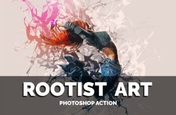 Rootist Art Photoshop Action 4205167 3