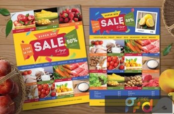 Supermarket - Product Flyer 5SMKRE2 2