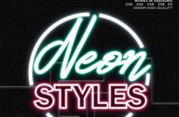 25 Neon Layer Styles 24932240 4