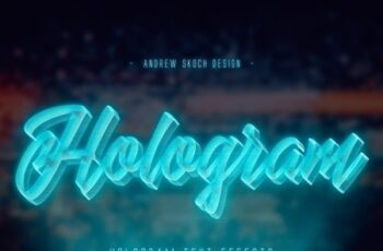 Hologram Text Effects 23600572 4