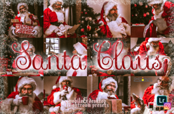 5 Santa Claus Lightroom Preset Christmas 2139083 6