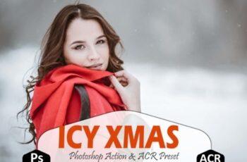 Icy Xmas Photoshop Actions 2138804 5