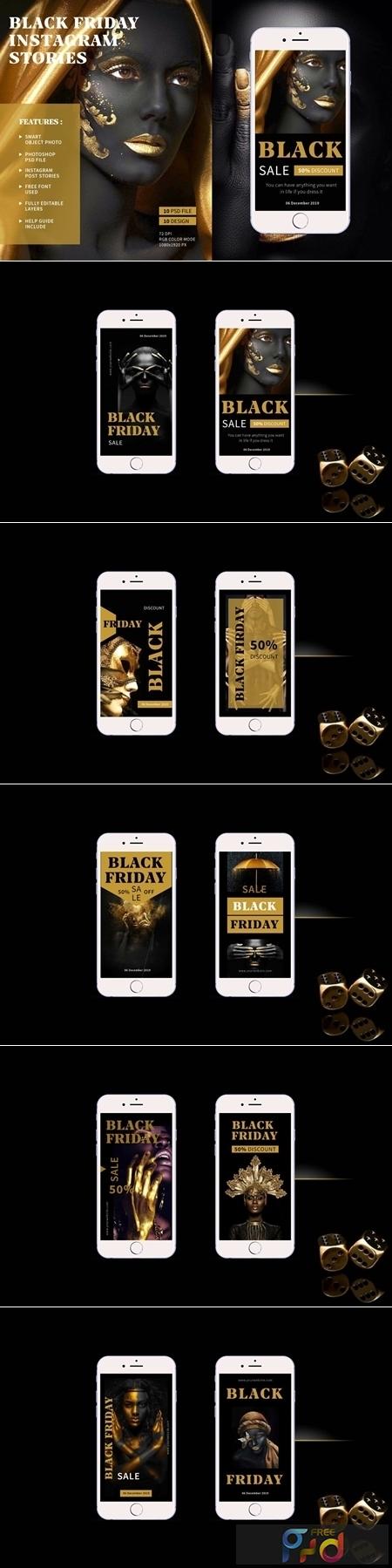 Black Friday - Instagram Stories 4244560 1