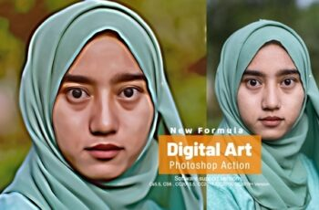 Digital Art Photoshop Action 4285981 5
