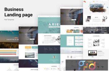 Aries - Multipurpose Creative PSD Template DLH8JJG 7
