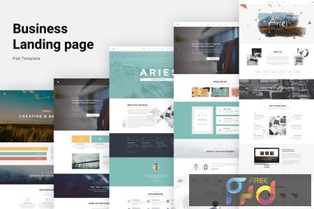 Aries - Multipurpose Creative PSD Template DLH8JJG 1
