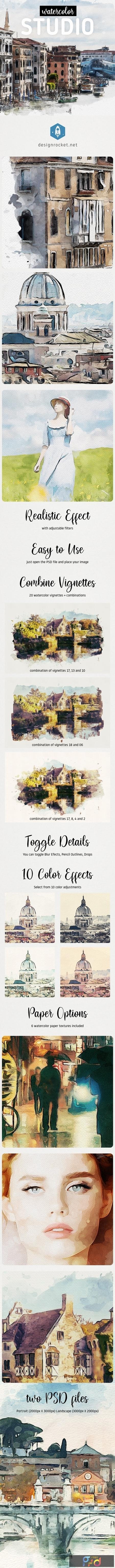 Watercolor Studio 25046502 1