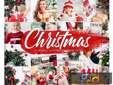 8 CHRISTMAS Lightroom Mobile Presets 4268676 1