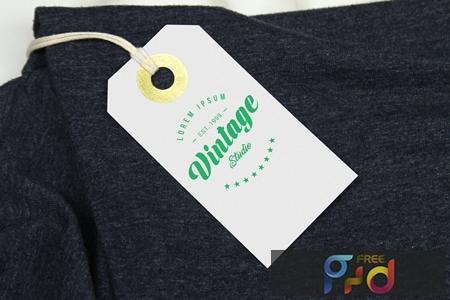 Branding Label Tag Mockup PSQW2F7 1