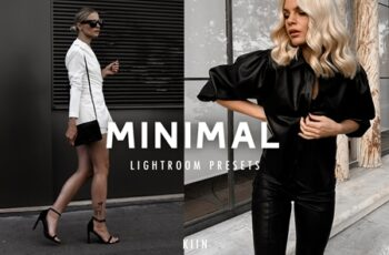 7 MINIMAL BLOGGER LIGHTROOM PRESETS 4288109