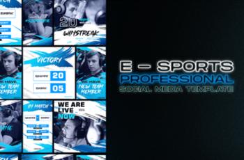 Social Media E Sport Template 2013293 7