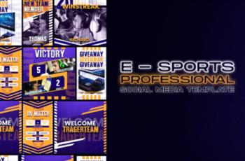 Social Media E Sport Template 2013290 3