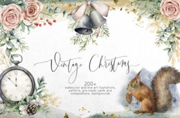 Vintage Christmas Graphic Collection 2013909 6