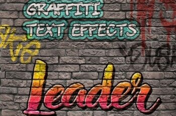 8 Graffiti Text Effects - 8 PSD Templates Vol.2 25033075 6