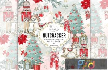 Christmas Nutcracker design U633VV4