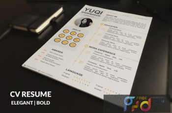 CV Resume Simple And Clean FQXTD5X 6
