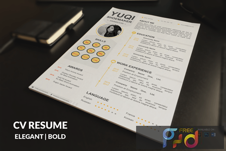 CV Resume Simple And Clean FQXTD5X 1