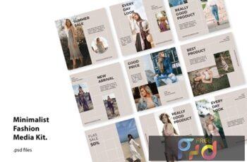 Social Media Kit Classy Fashion LV8J5YX 7