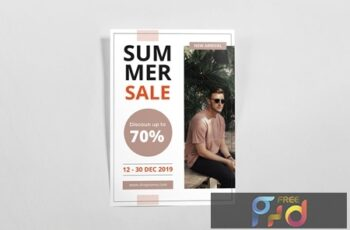 Summer Sale Flyer R94VYA6 8