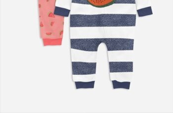 Baby Fleece Growsuit Mock-ups 4272646 2