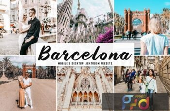 Barcelona Mobile & Desktop Lightroom Presets KRAE2AH 4