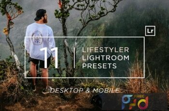 11 Lifestyler Lightroom Presets + Mobile 2CNBS8Q 5