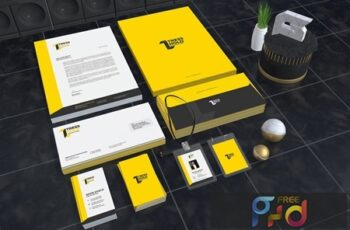Tress Hold Construction Corporate Identity CWRJP8G 2