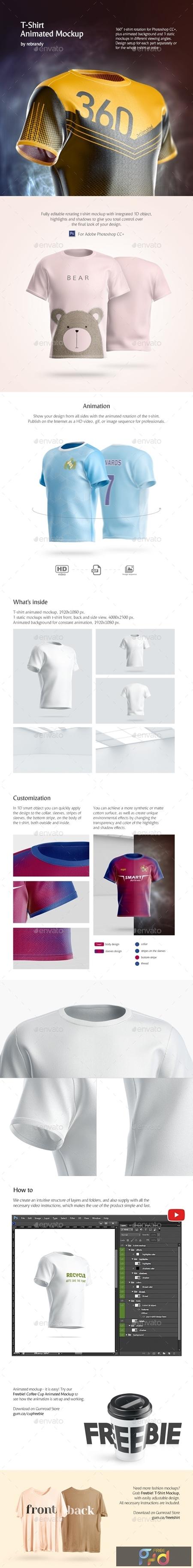 T-Shirt Animated Mockup 24720128 1