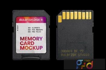 Memory Card Mockup 7JPR9WG 7