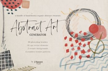 Abstract Art Generator- PSD Brushes 4281557 2