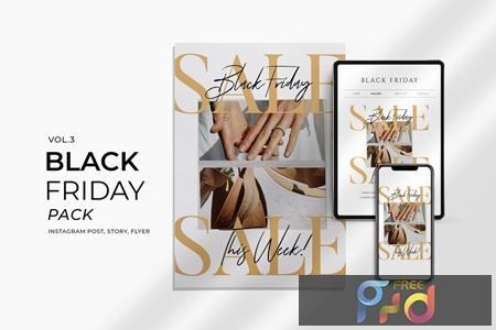 Black Friday Promotion Flyer and Instagram Vol3 UJKYUM5 1