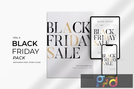 Black Friday Promotion Flyer and Instagram Vol4 9U6QU6Y 1
