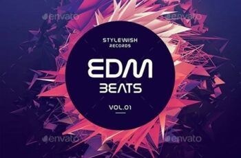 EDM Beats CD Cover Artwork 20119903 7