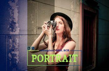Portrait LR Mobile and ACR Presets 4171612 4